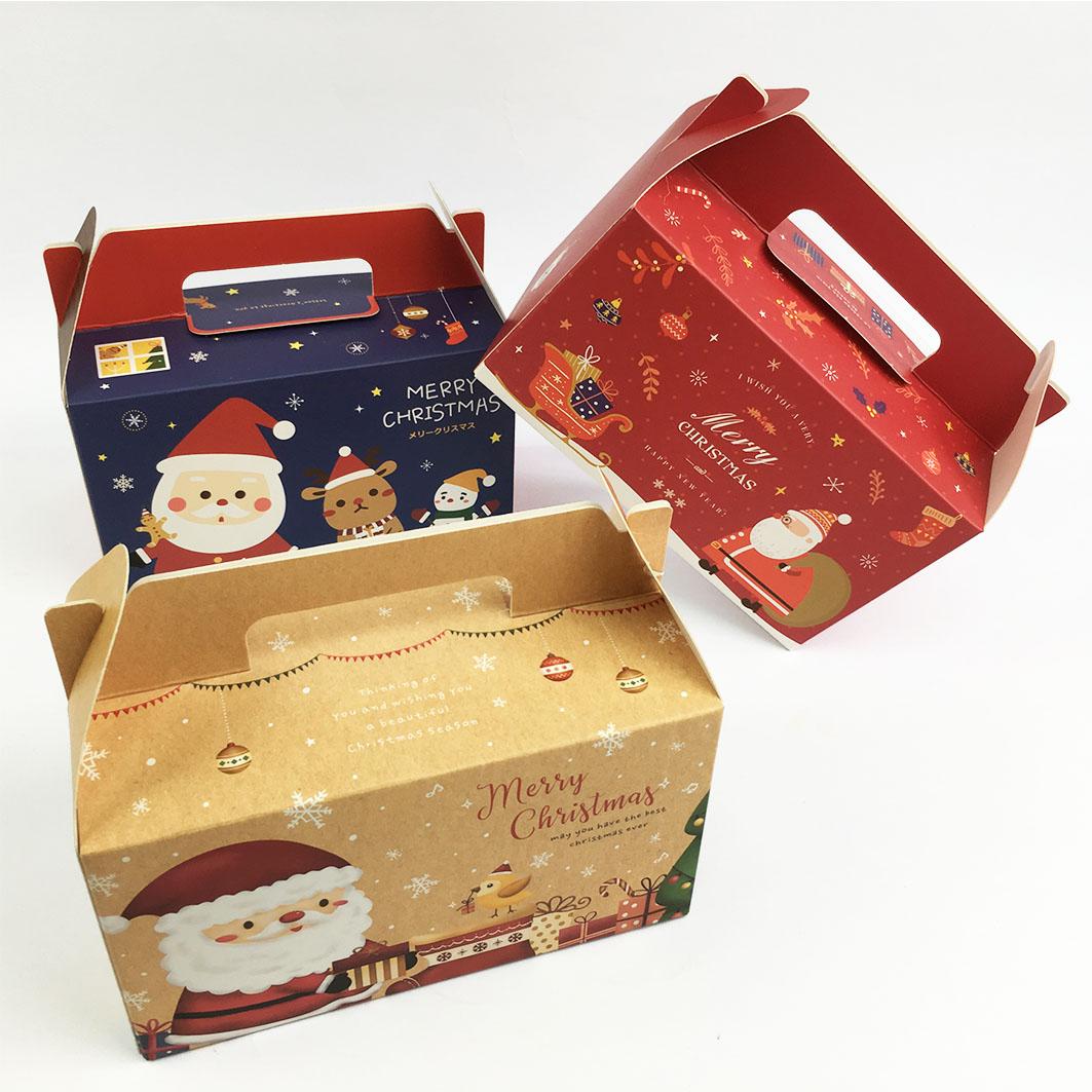 XM46 耶誕系列6K鏤空食品提盒