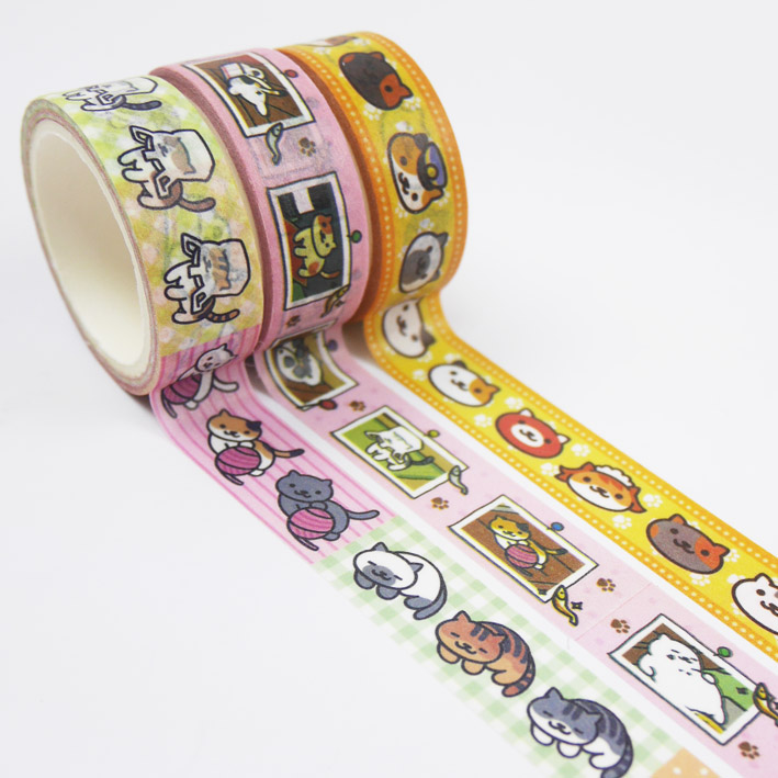 S260 貓咪后院紙膠帶