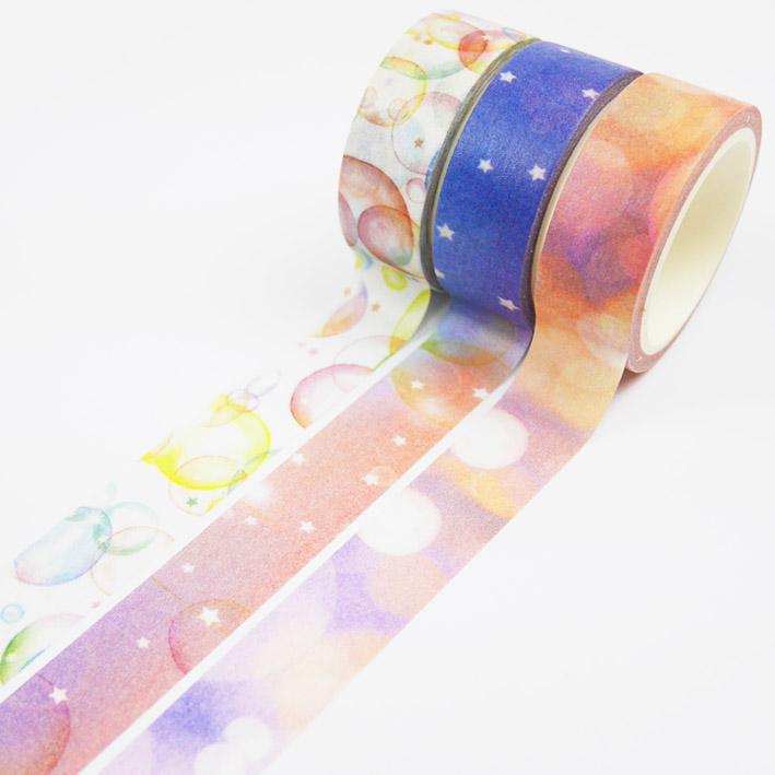 S258 夢幻氣泡紙膠帶