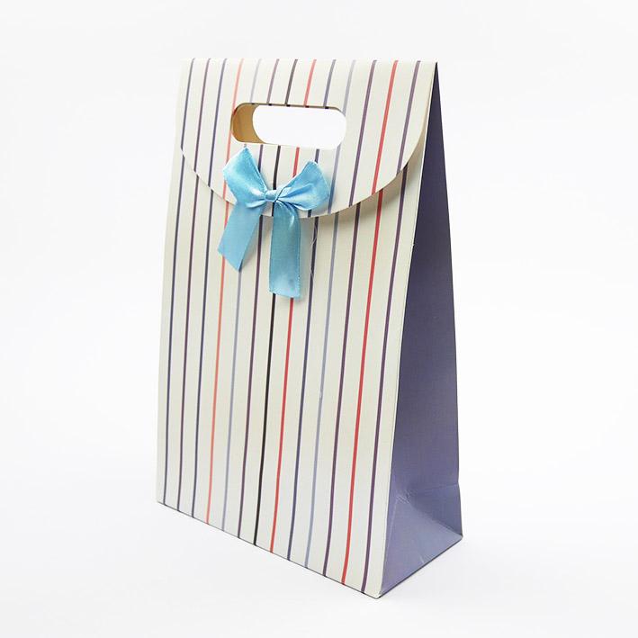 B200 打洞禮品袋-極簡線條