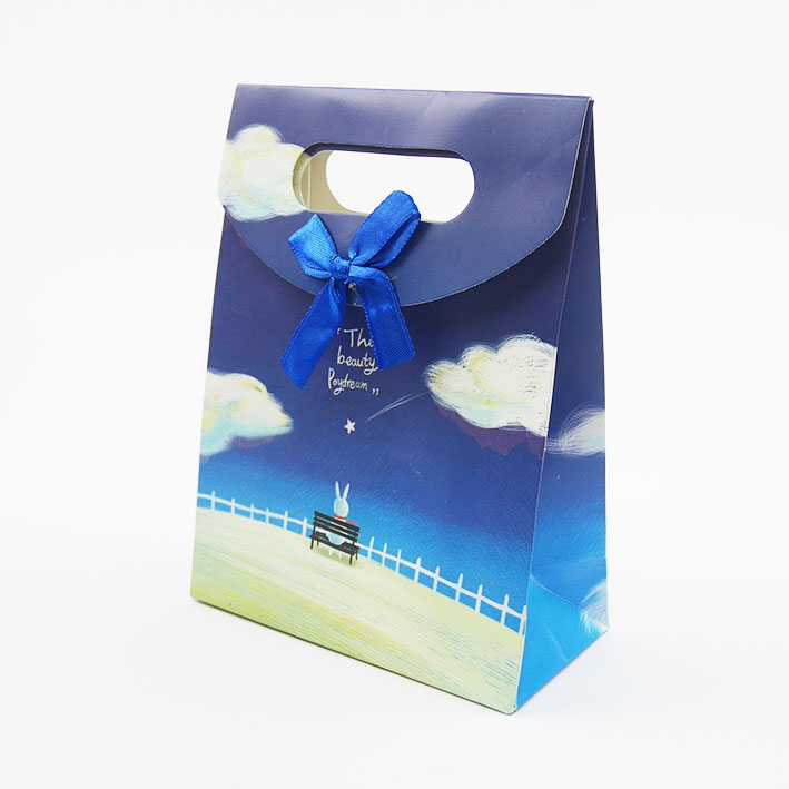 B205 打洞禮品袋-藍天小兔