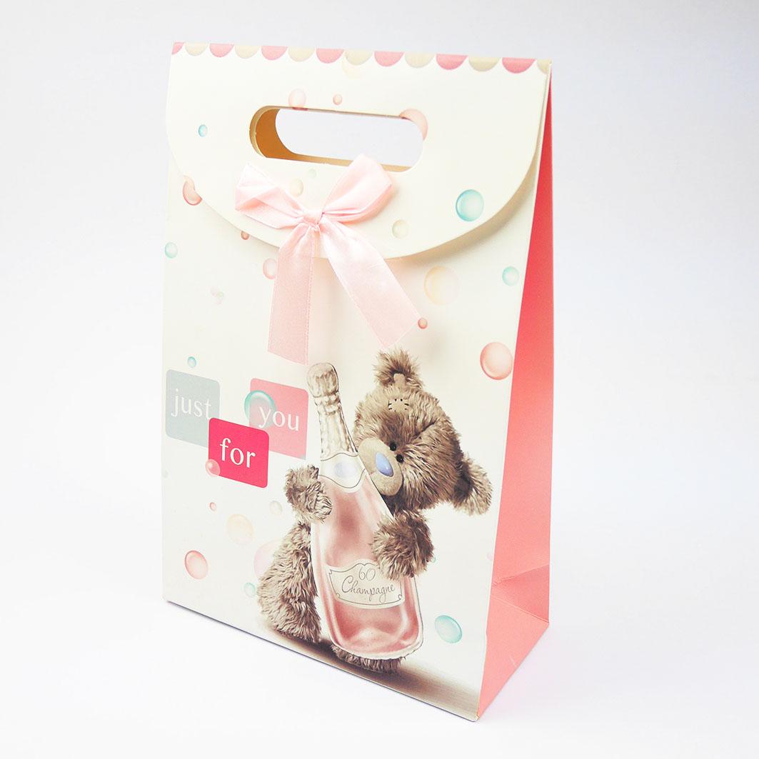 B208 粉色酒瓶小熊