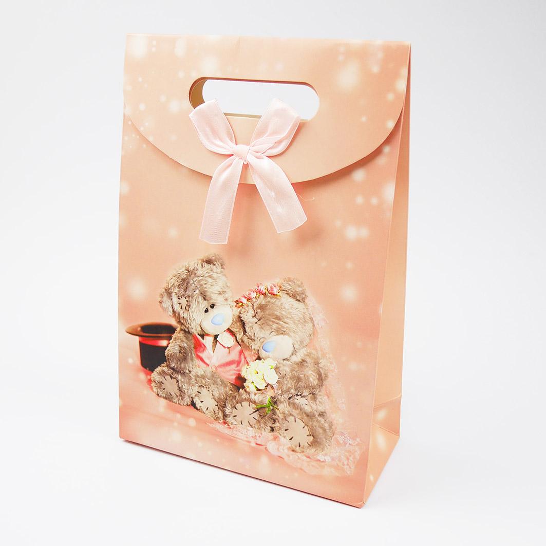 B212 打洞禮品袋-浪漫愛情泰迪熊