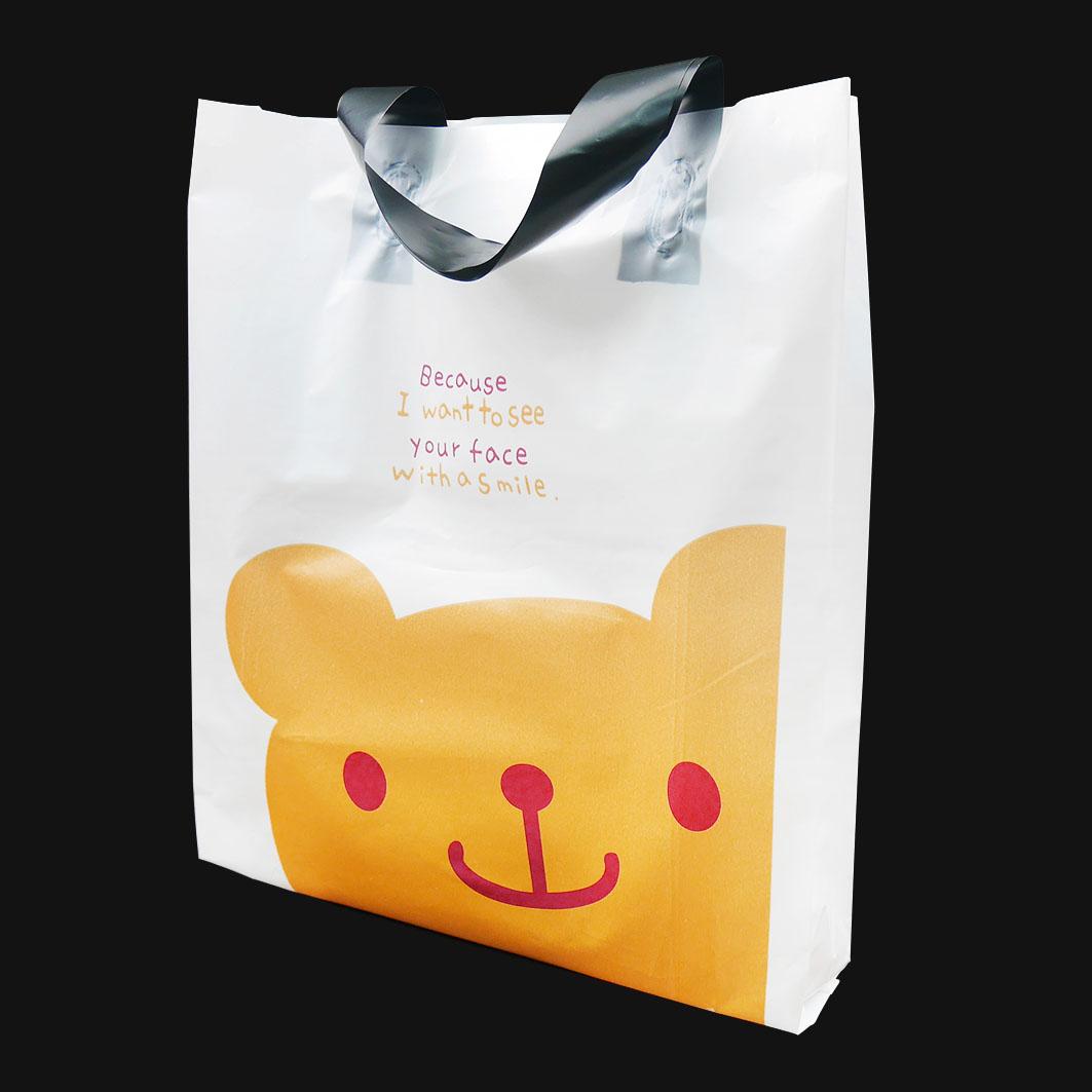 V172 微笑小熊手提袋