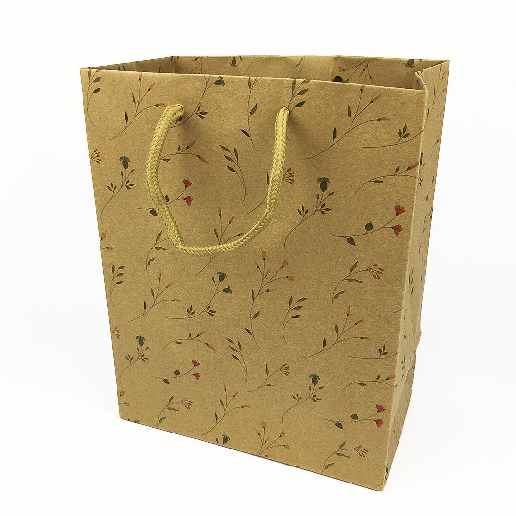 B123 香草菲菲牛皮手提紙袋