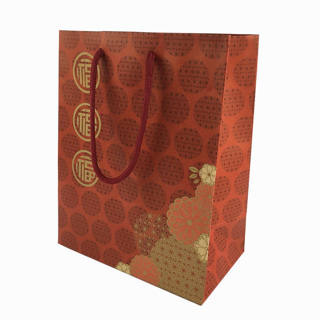 B124 三福馥華手提紙袋
