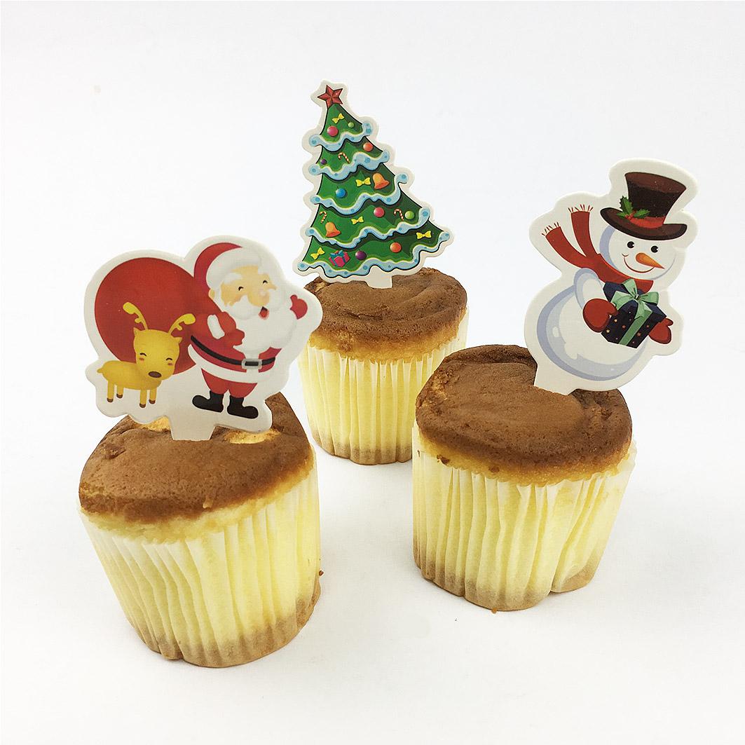 XM19 耶誕系列蛋糕裝飾卡