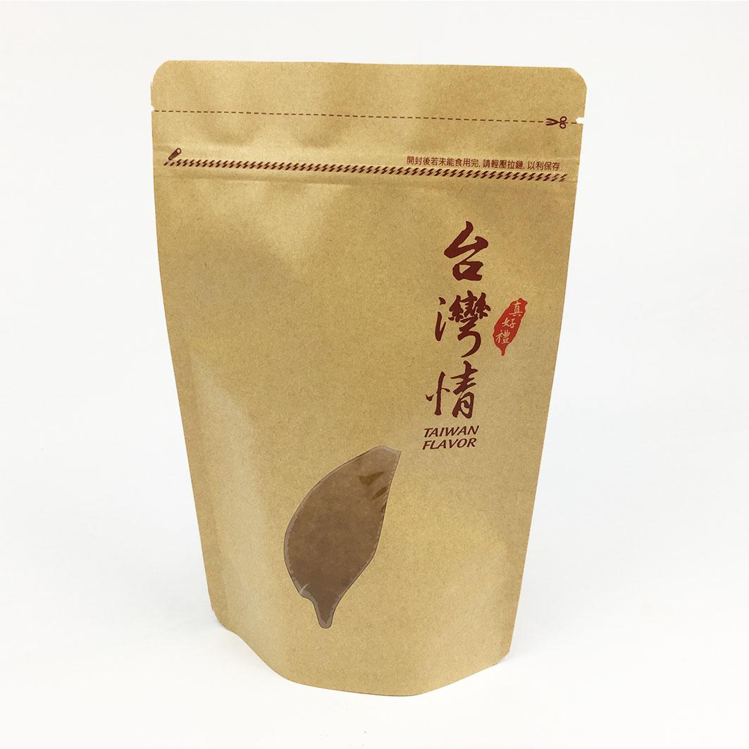 V336 牛皮夾鏈立袋-台灣情