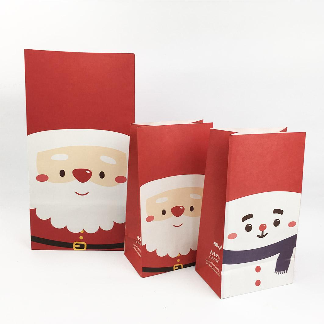 XM59 耶誕系列立體紙袋-耶誕大頭照