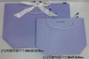 B55 粉紫緞帶提袋