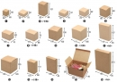 X160 牛皮無印紙盒