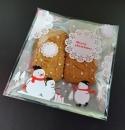 V366 聖誕節OPP自黏糖果袋「可愛雪人」