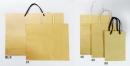 W37 手提紙袋「粉黃素牛皮紙袋」