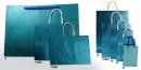 W13 藍色牛皮手提紙袋