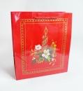 B39 聖誕節紙袋-紅色聖誕