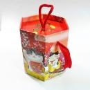 X382 年節提盒-招財貓六角提盒