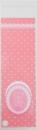 V39 OPP彩色自黏糖果袋-粉色小熊