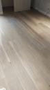 煙燻橡木自然漆面 施工現場2