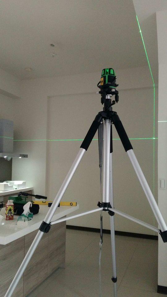 雷射儀水平垂直檢測