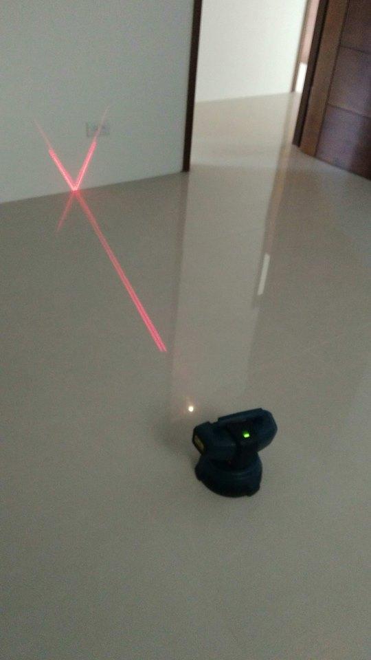 裝潢地板專用雷射地坪墨線儀