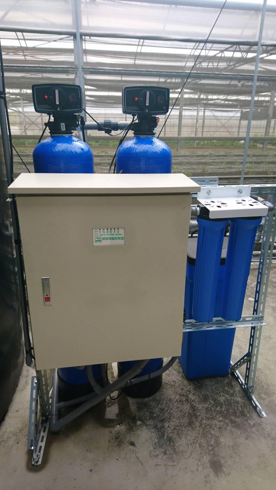 800加侖逆滲透機含前置過瀘-前面-大村改良場