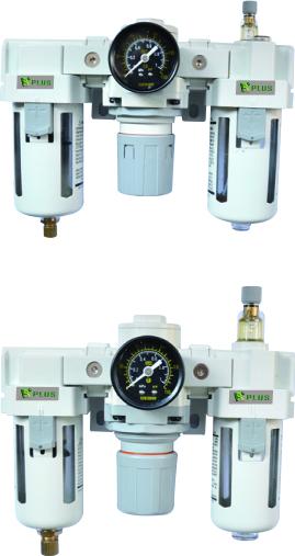 RAC系列過濾器+調壓器+油霧器 三點式