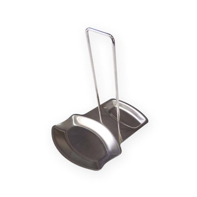 EC035 #304不銹鋼鍋蓋/湯匙瀝水盤置物架