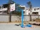 單柱活動籃球架