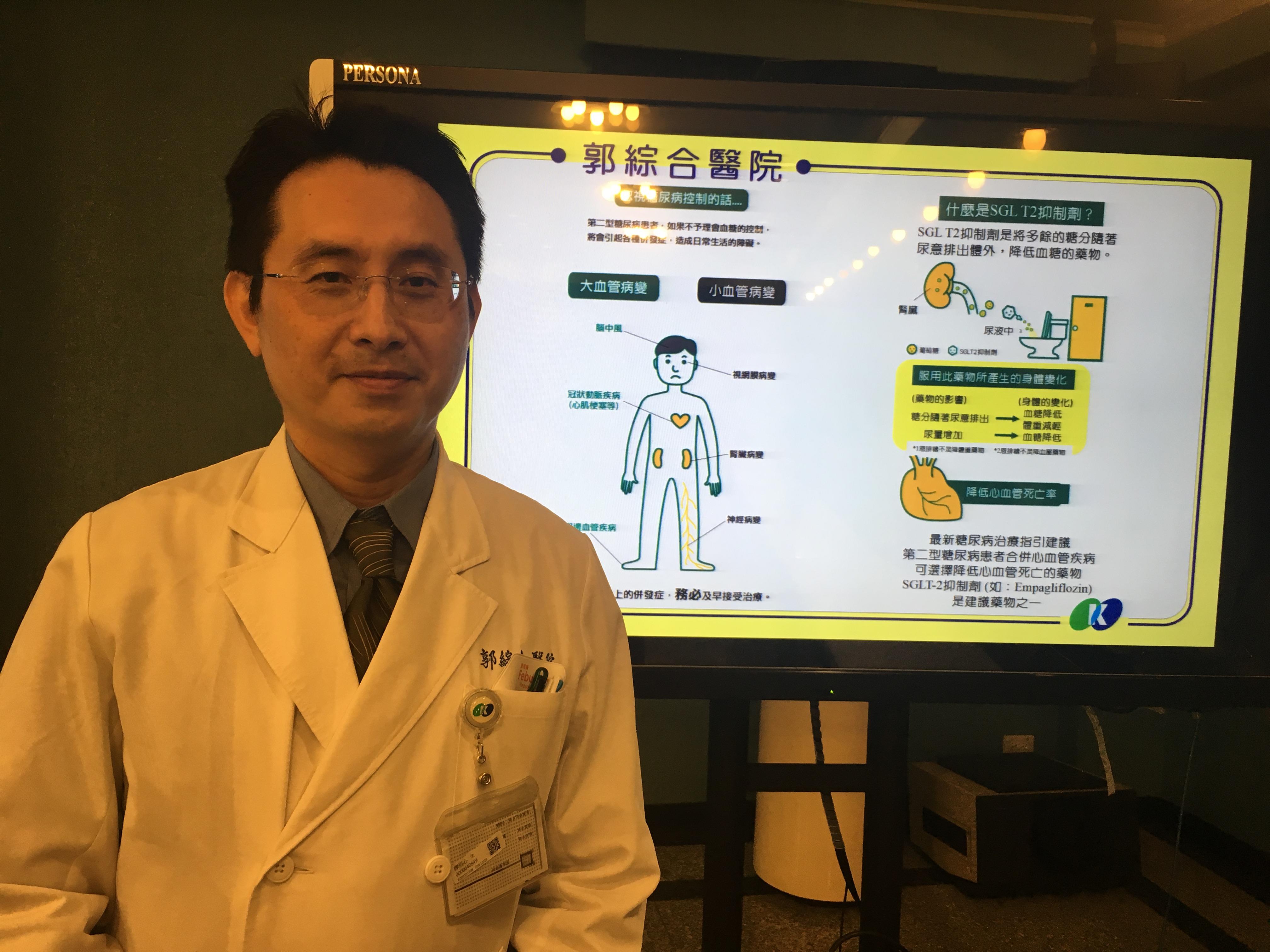 一兼二顧─降血糖體重又保護心腎功能 談第二型糖尿病治療新藥
