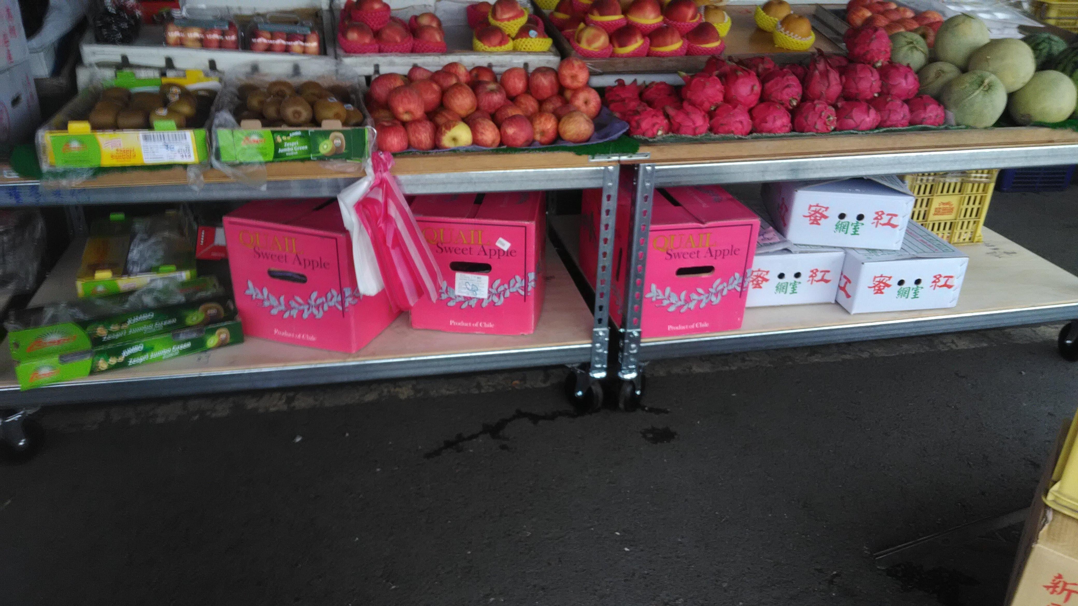 蔬果用車輪架(鍍鋅)