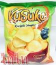 I0062 印尼KUSUKA樹薯片(RASA ORIGINAL)$50 Snack khoai mì Indo KUSUKA