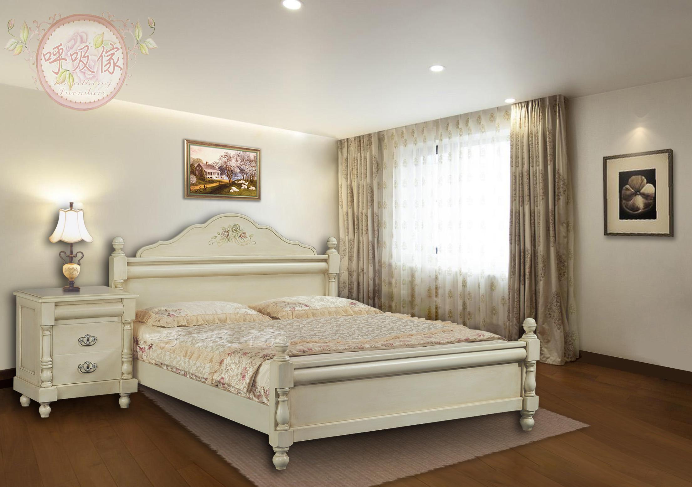 雅典-雙人床