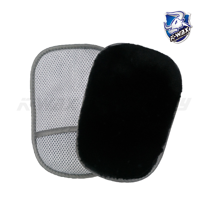 黑色羊毛洗車手套 Ultra Soft Wool Wash Mitt