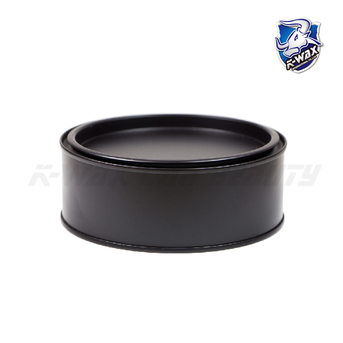 馬口鐵罐 (黑) Round Metal Wax Can(Black)