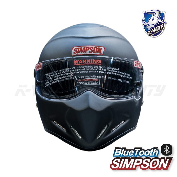 SIMPSON藍牙內嵌式安全帽 Bluetooth helmet