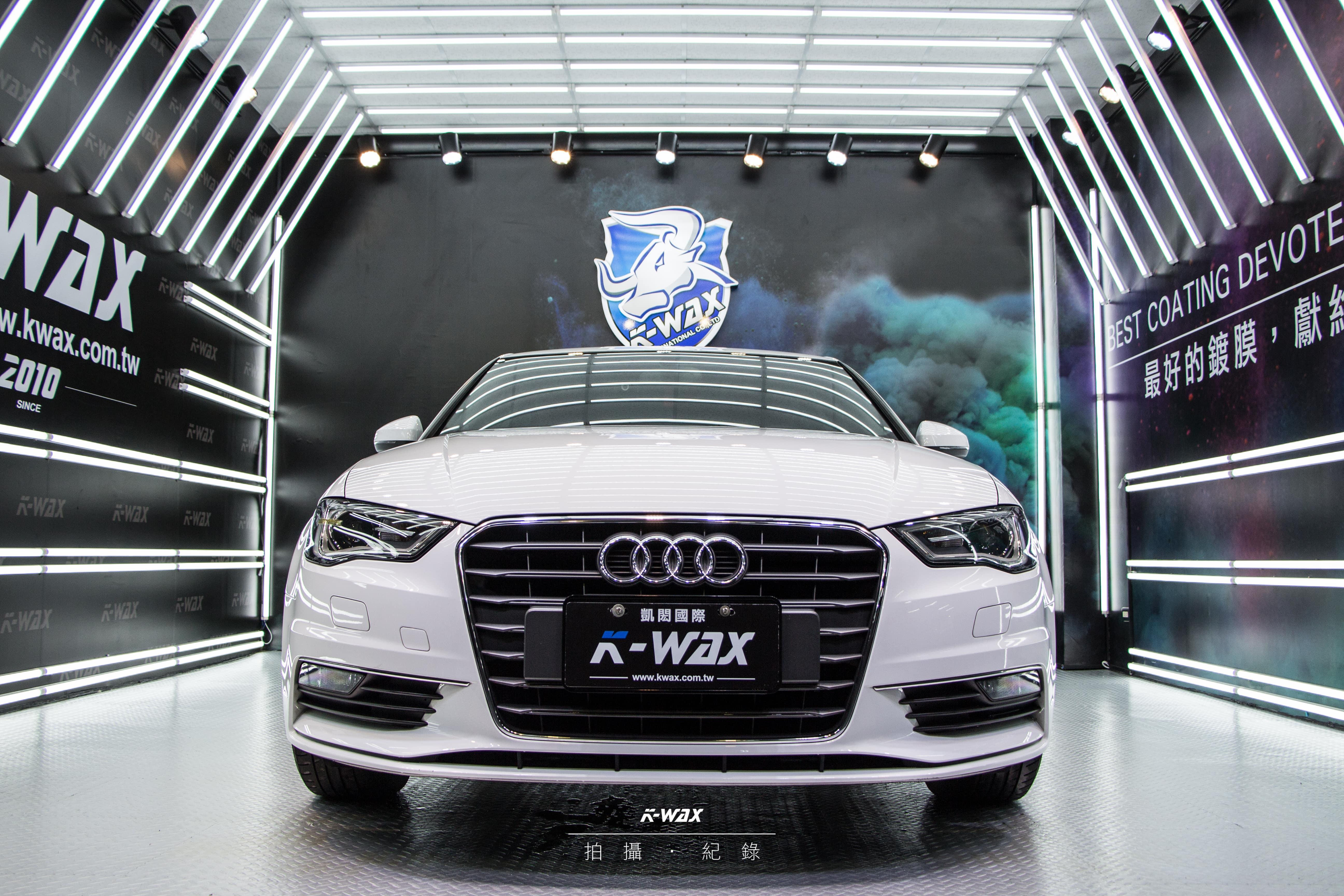 K-WAX NSC 奈米超級鍍膜 Audi A3