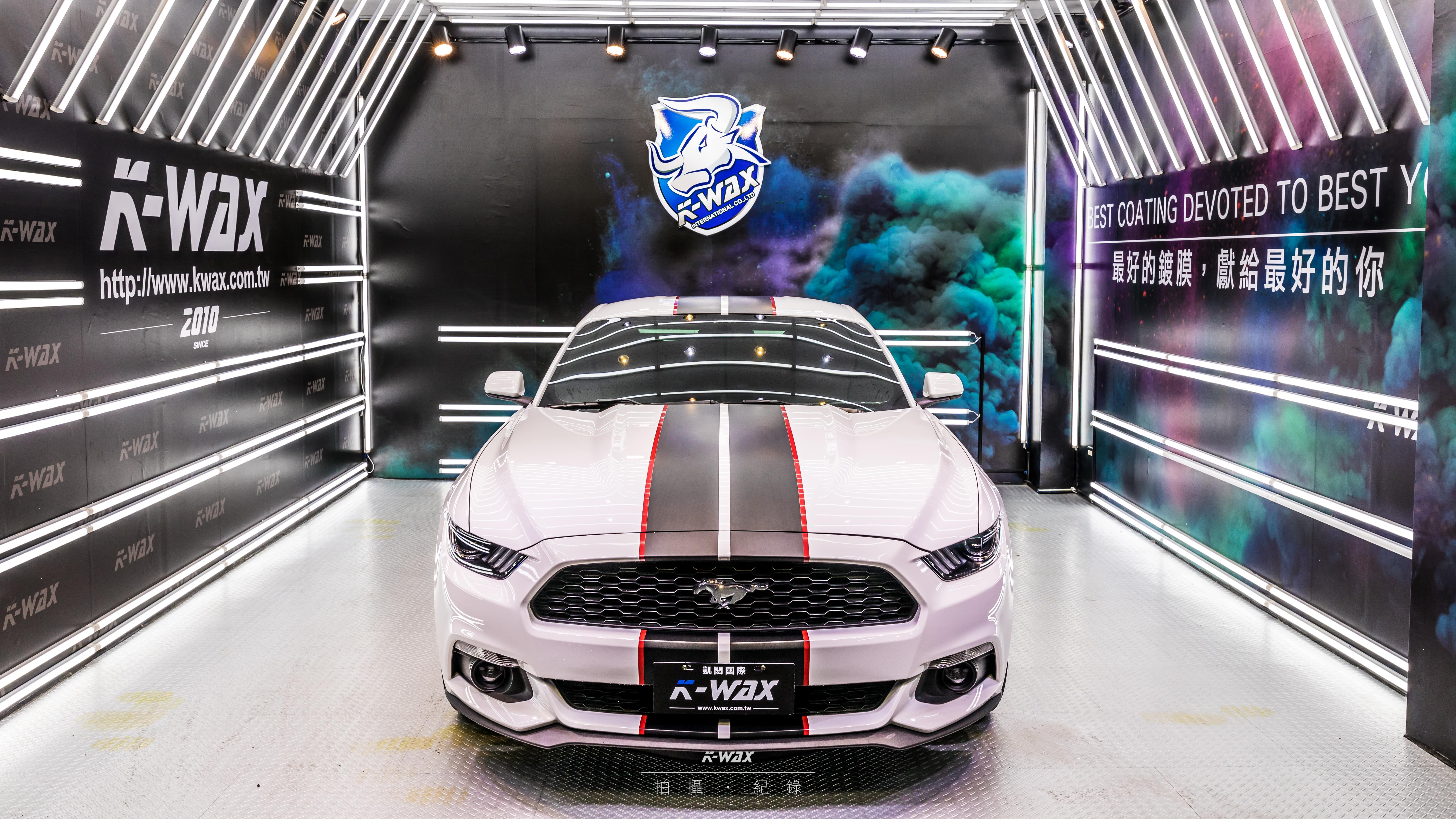 K-WAX NSC 奈米超級鍍膜 Mustang