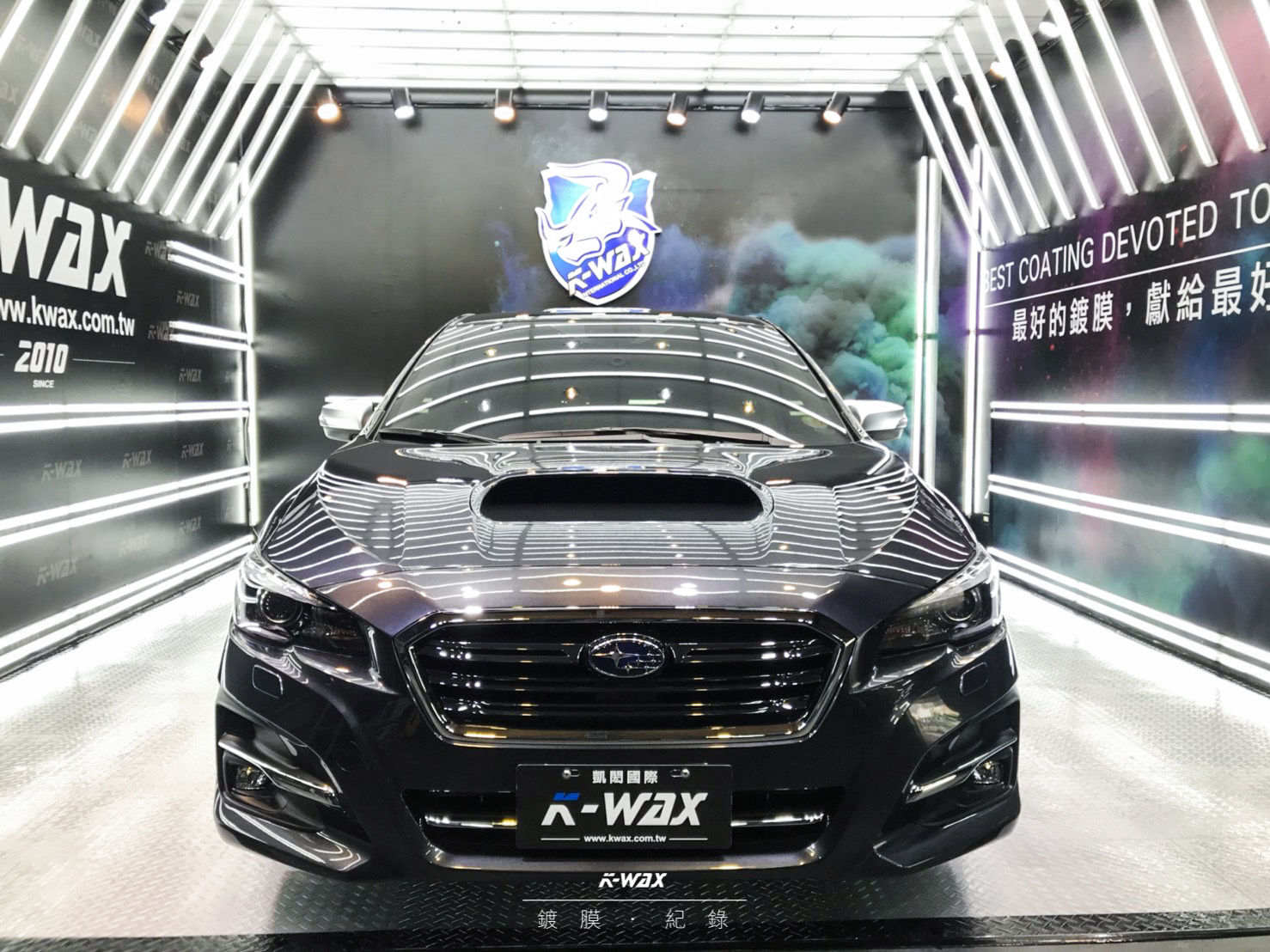 K-WAX NSC 奈米超級鍍膜 Subaru Levorg