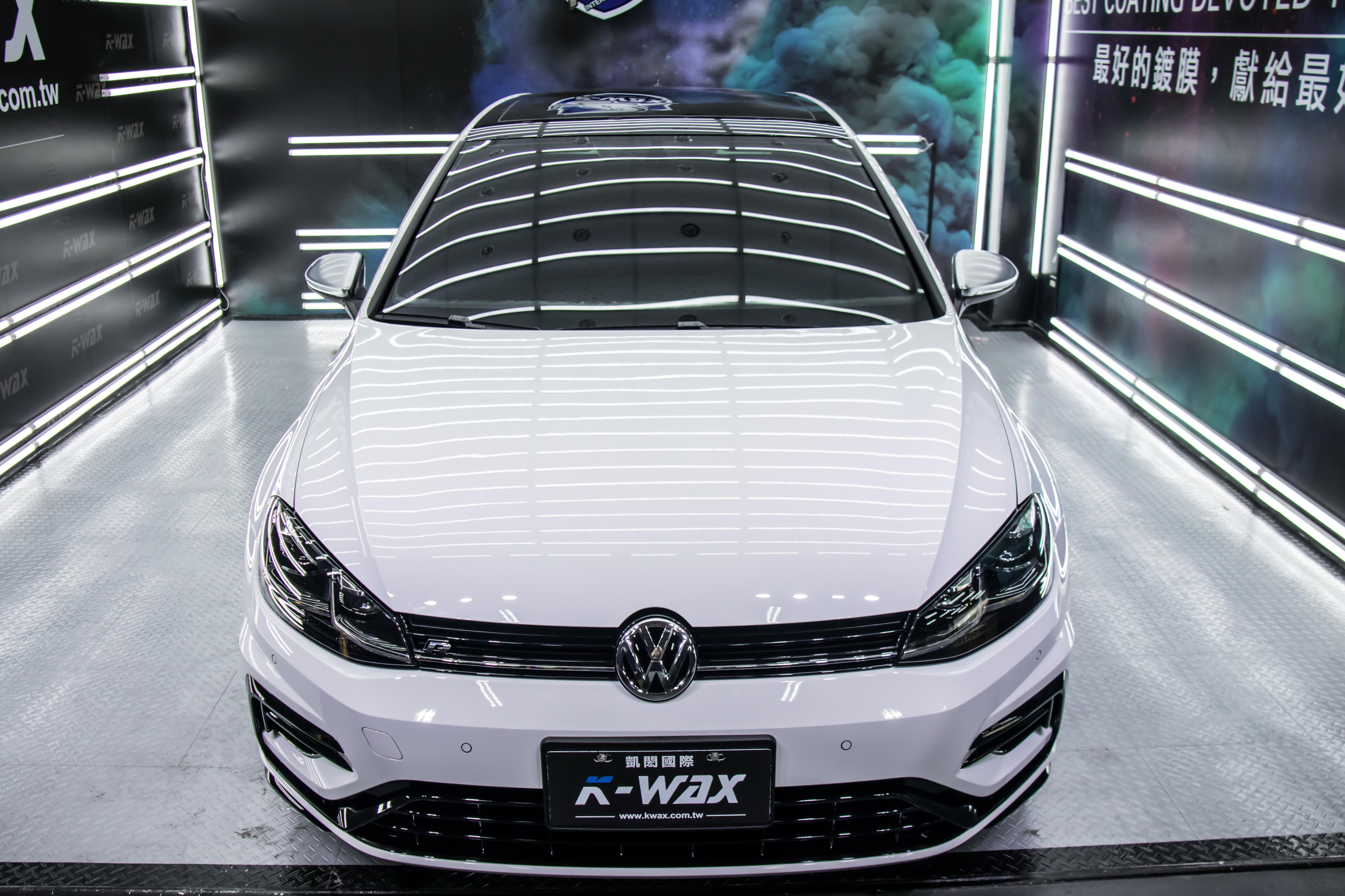 K-WAX NSC 奈米超級鍍膜 Volkswagen Golf R