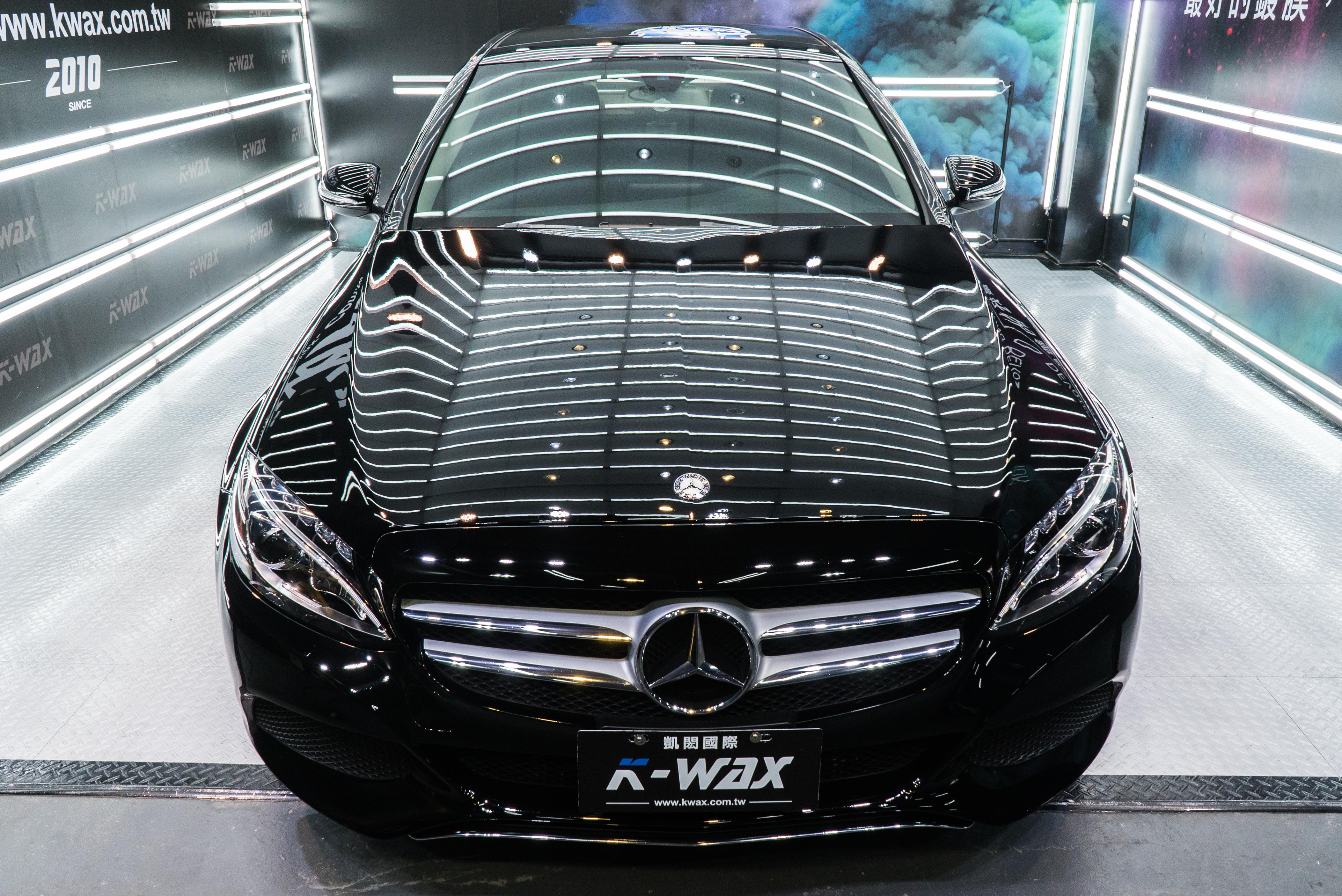 K-WAX NSC 奈米超級鍍膜 Benz C300