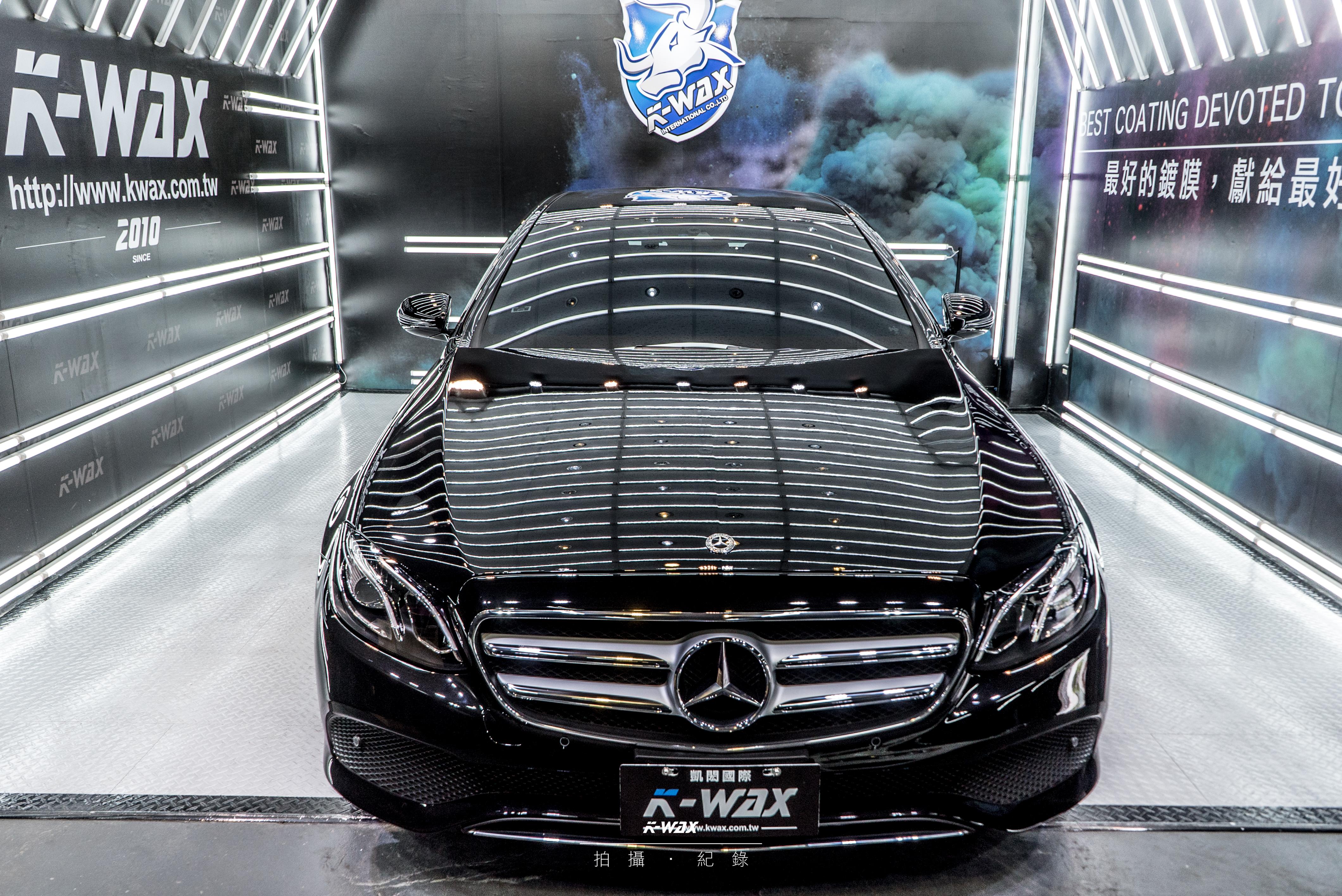 K-WAX NSC 奈米超級鍍膜 Benz E200 NSC鍍膜