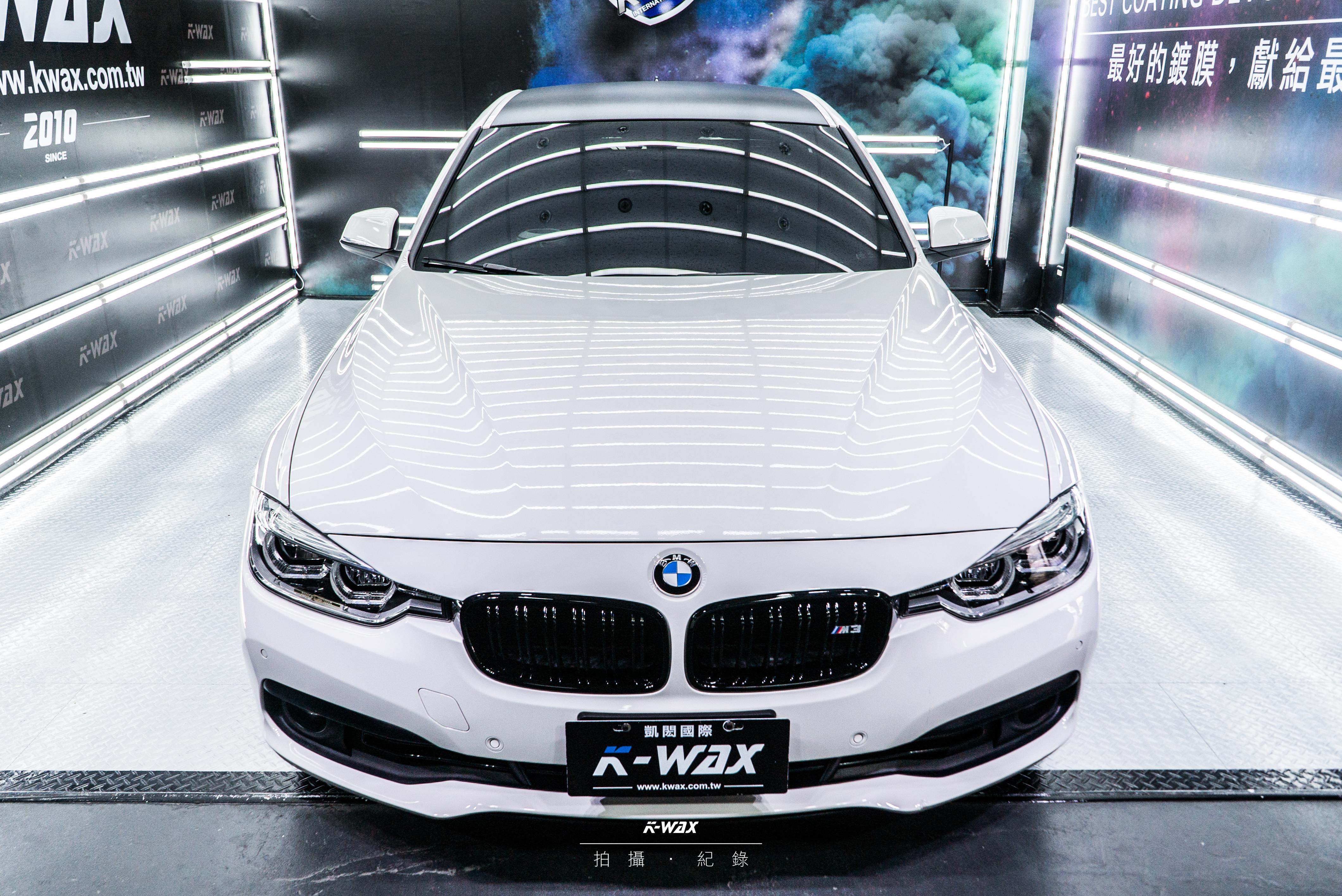 K-WAX NSC 奈米超級鍍膜 BMW 320I