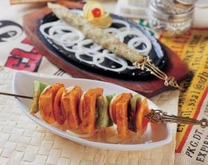 串燒時蔬印度烤起司