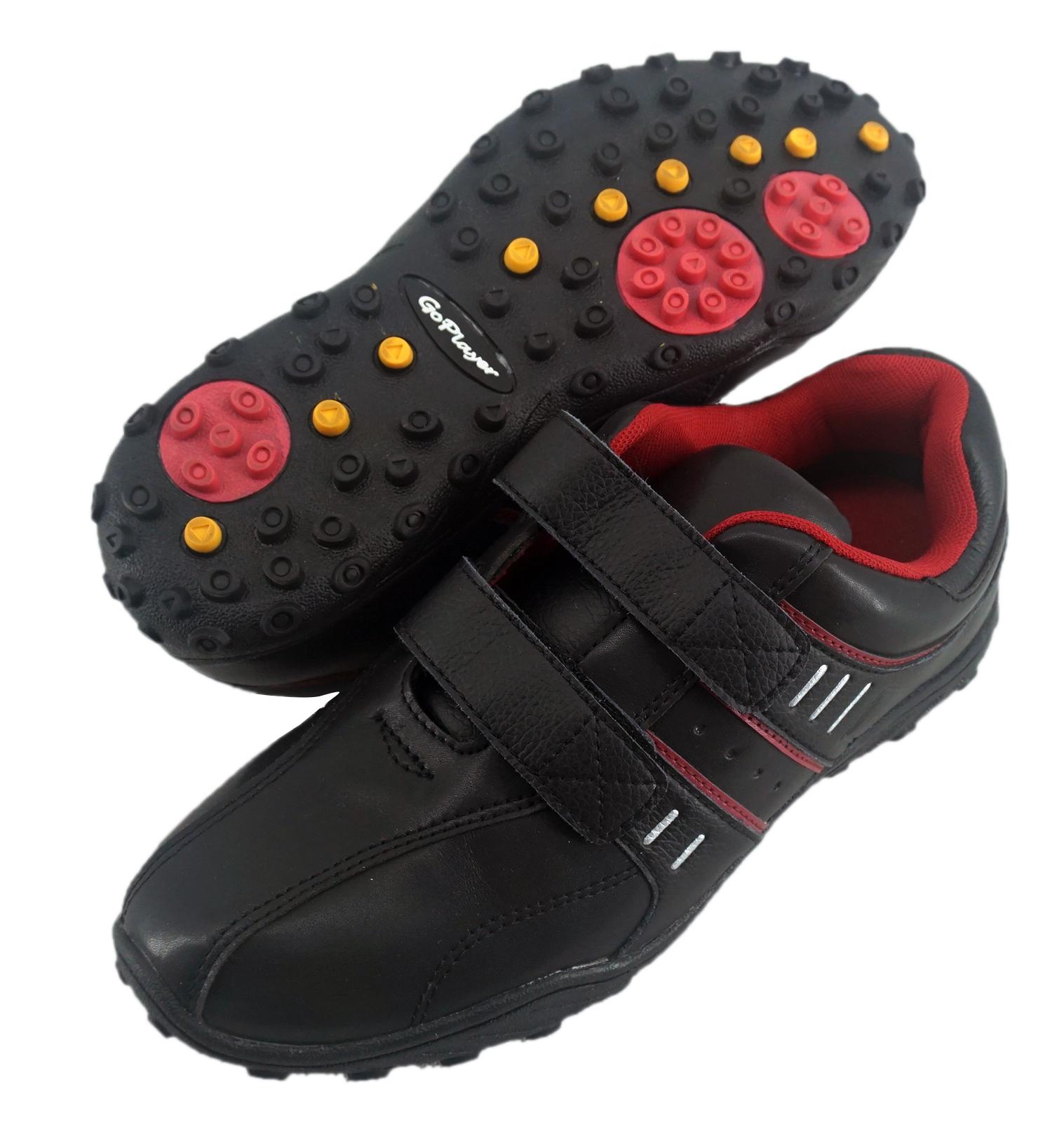 GP黏扣兩用鞋(黑酒紅) GSH1029