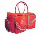 時尚布波紋衣物袋(橘紅)PBA60130