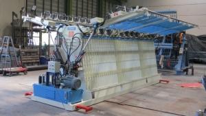 展開型雙面油壓拼板機(經濟型)