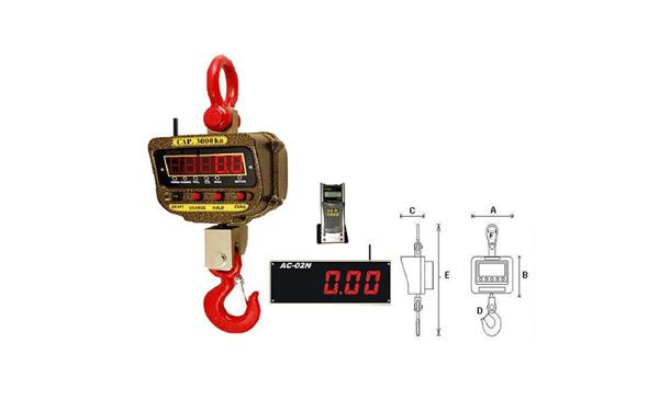 無線雙向顯示電子吊秤