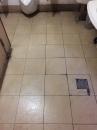 廁所地磚清洗後