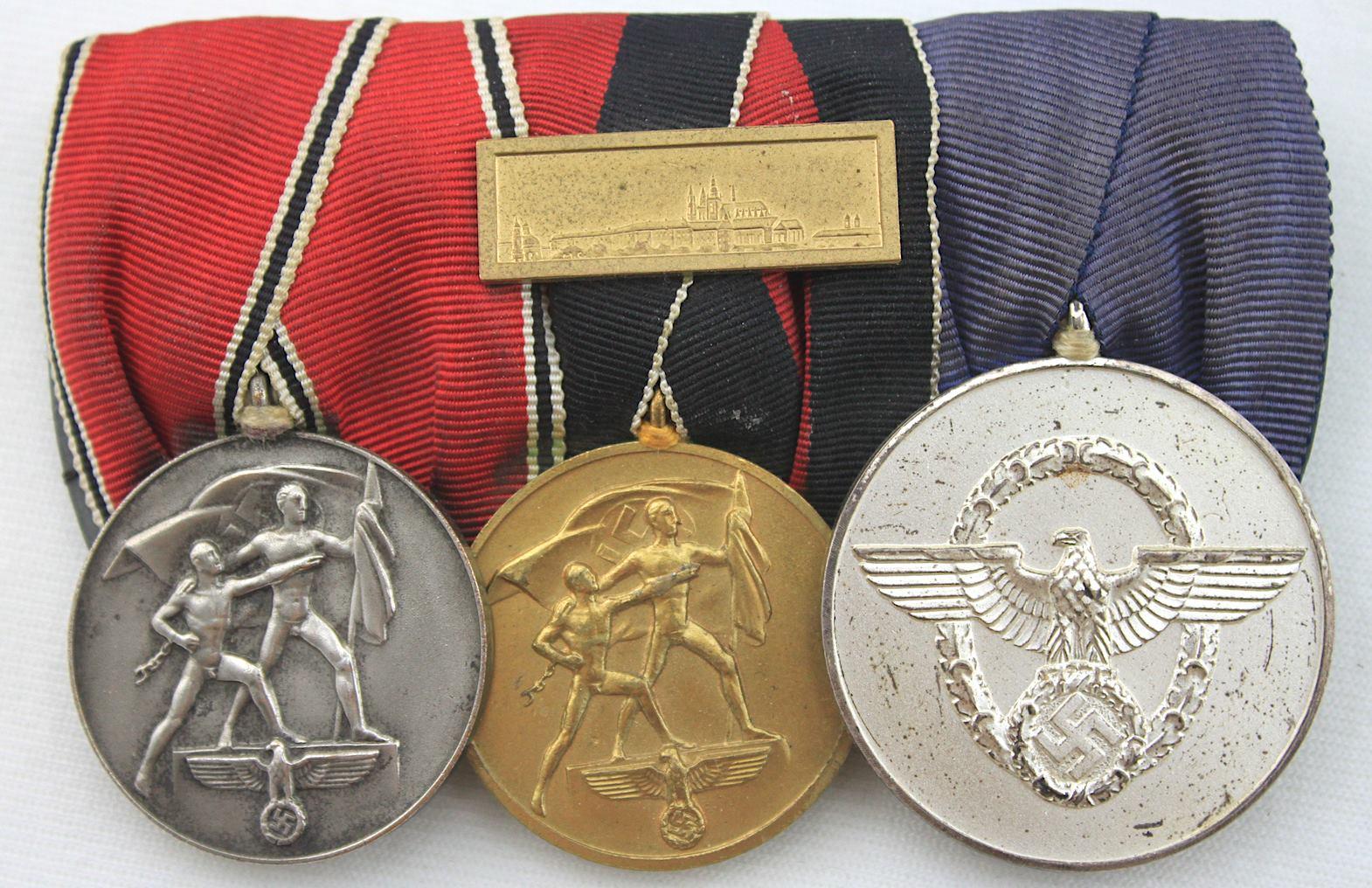 二戰德國四連勳排