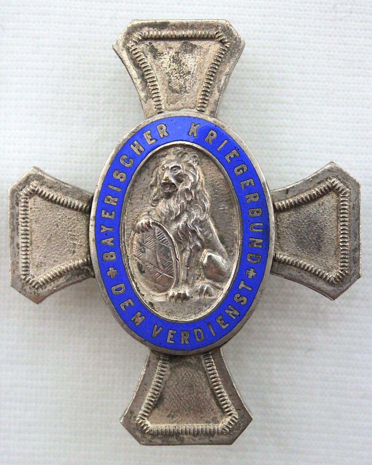 威瑪德國時期,巴伐利亞一戰老兵聯盟十字
